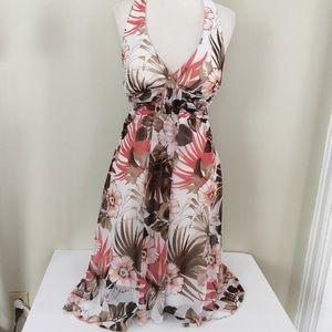 Speechless floral halter dress size S